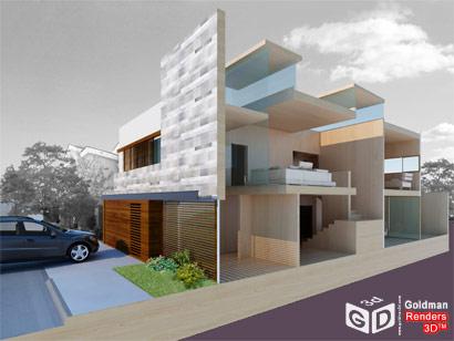 Render 3d casa csz blog goldman renders 3d for Rendering casa gratis